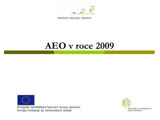 AEO v roce 2009