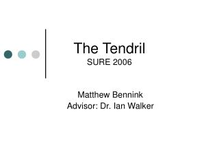 The Tendril SURE 2006
