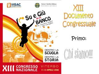 XIII  Documento  Congressuale