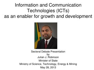 Information and Communication Technologies (ICTs)  as an enabler for growth and development