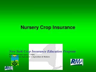 Nursery Crop Insurance