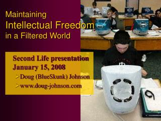 Maintaining Intellectual Freedom in a Filtered World