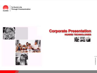 Corporate Presentation HUAWEI TECHNOLOGIES