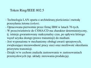 Token Ring/IEEE 802.5