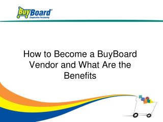 How to Become a BuyBoard Vendor and What Are the Benefits