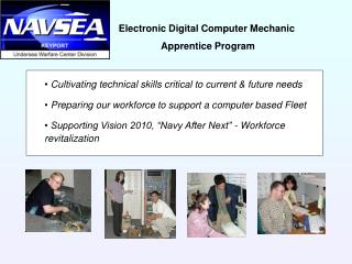 Electronic Digital Computer Mechanic  Apprentice Program