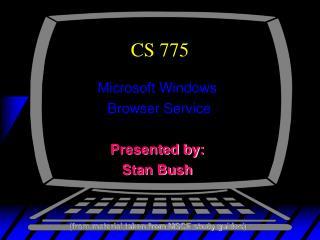 CS 775