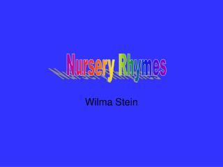Wilma Stein