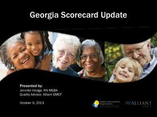 Georgia Scorecard  Update