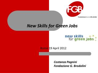 New Skills for Green Jobs