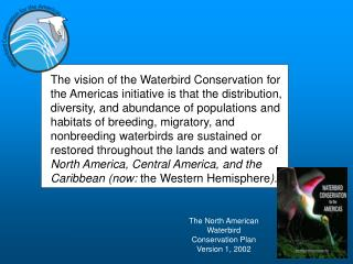 The North American Waterbird Conservation Plan Version 1, 2002