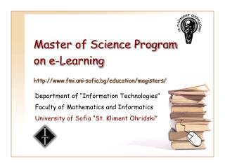 Master of Science Program on e-Learning