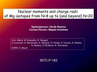 Nuclear moments and charge radii  of Mg isotopes from N=8 up to (and beyond) N=20