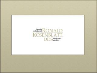 Beverly Hills Cosmetic Dentist Dr. Ronald Rosenblatt DDS