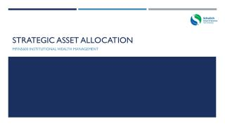 Strategic Asset allocation