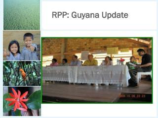 RPP: Guyana Update
