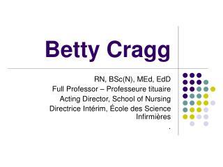 Betty Cragg