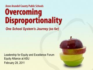 One School System's Journey (so far)