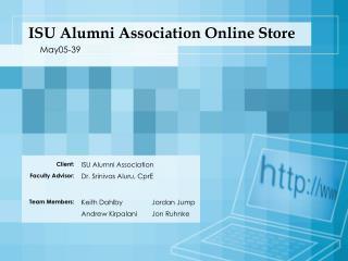 ISU Alumni Association Online Store