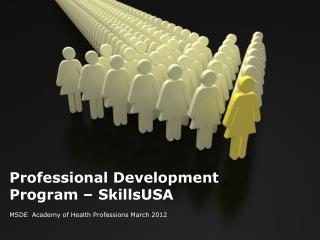 Professional Development Program – SkillsUSA