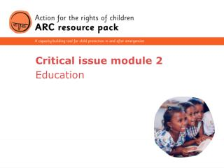 Critical issue module 2