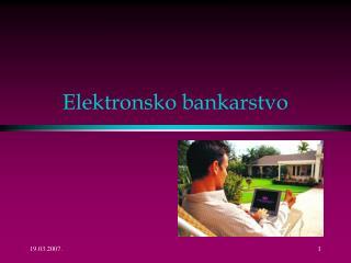 Elektronsko bankarstvo
