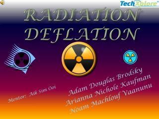 Radiation Deflation