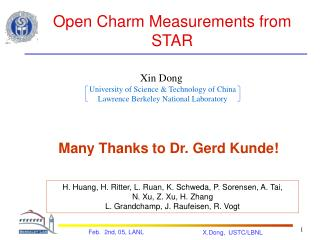 Open Charm Measurements from STAR