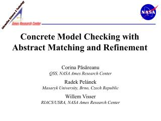 Concrete Model Checking with Abstract Matching and Refinement