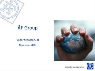 ÅF Group Viktor  Svensson,  IR November 2009