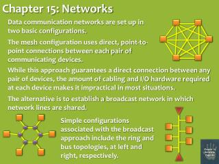 Chapter 15: Networks