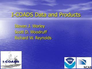 I-COADS Data and Products