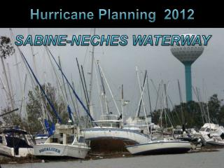 Hurricane Planning  2012