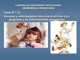 CARRERA DE ENFERMERO PROFESIONAL ENFERMERIA COMUNITARIA