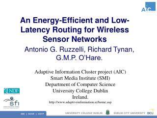 An Energy-Efficient and Low-Latency Routing for Wireless Sensor Networks