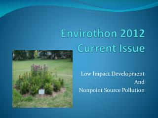 Envirothon  2012  Current Issue