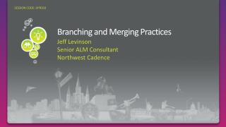Branching and Merging Practices