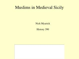 Muslims in Medieval Sicily
