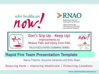 Rapid Fire Team Presentation Template