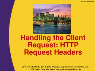 Handling the Client Request: HTTP Request Headers