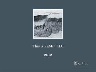 This is KaMin LLC 2012