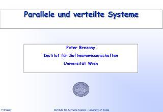 Parallele und verteilte Systeme