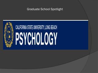 Graduate School Spotlight