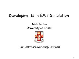 Developments in EMT Simulation