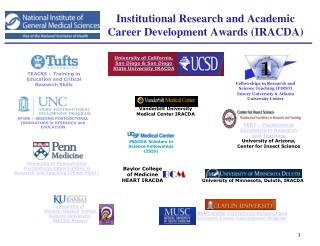 Institutional Research and Academic Career Development Awards (IRACDA)