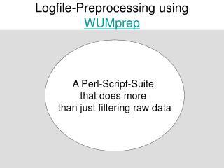 Logfile-Preprocessing using  WUMprep