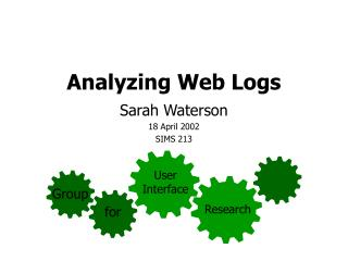Analyzing Web Logs