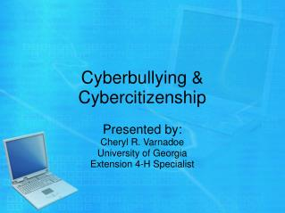 Cyberbullying & Cybercitizenship