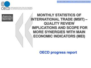 OECD progress report