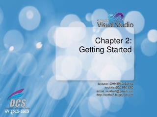 Chapter  2:  Getting Started